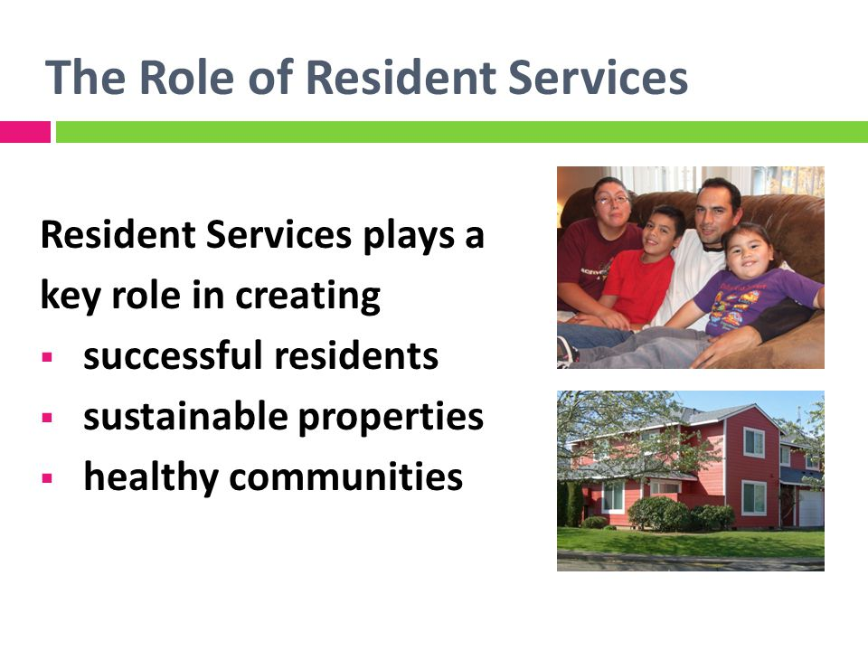 Key Outcomes Successful Residents Sustainable Properties Healthy Communities