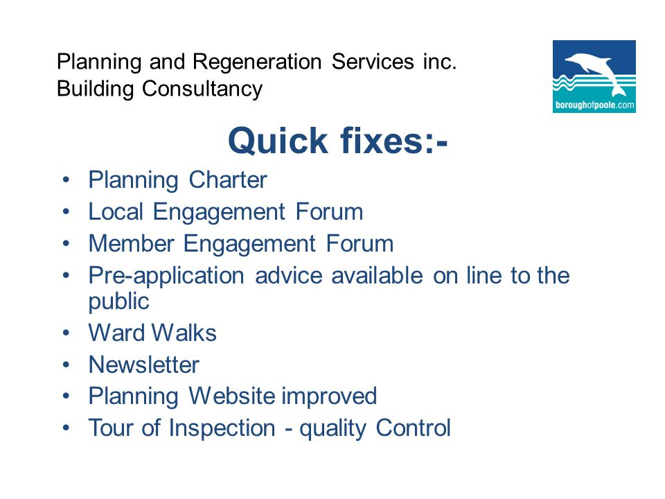 Planning and Regeneration Services inc.