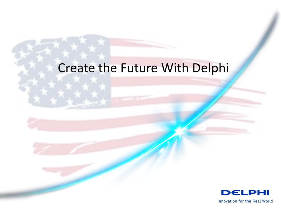 Create the Future With Delphi