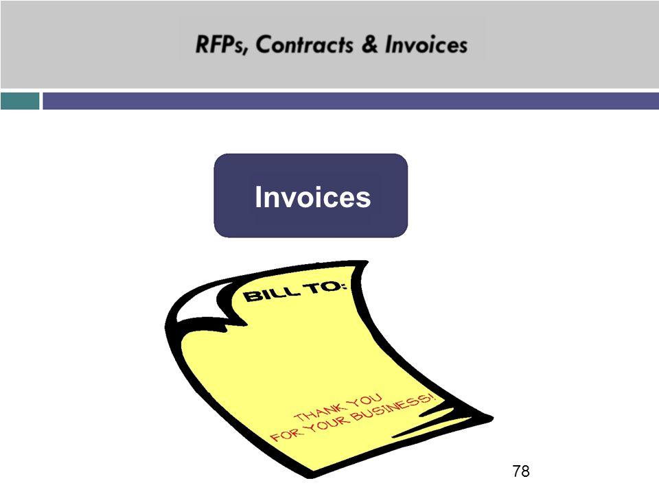 Invoices 78