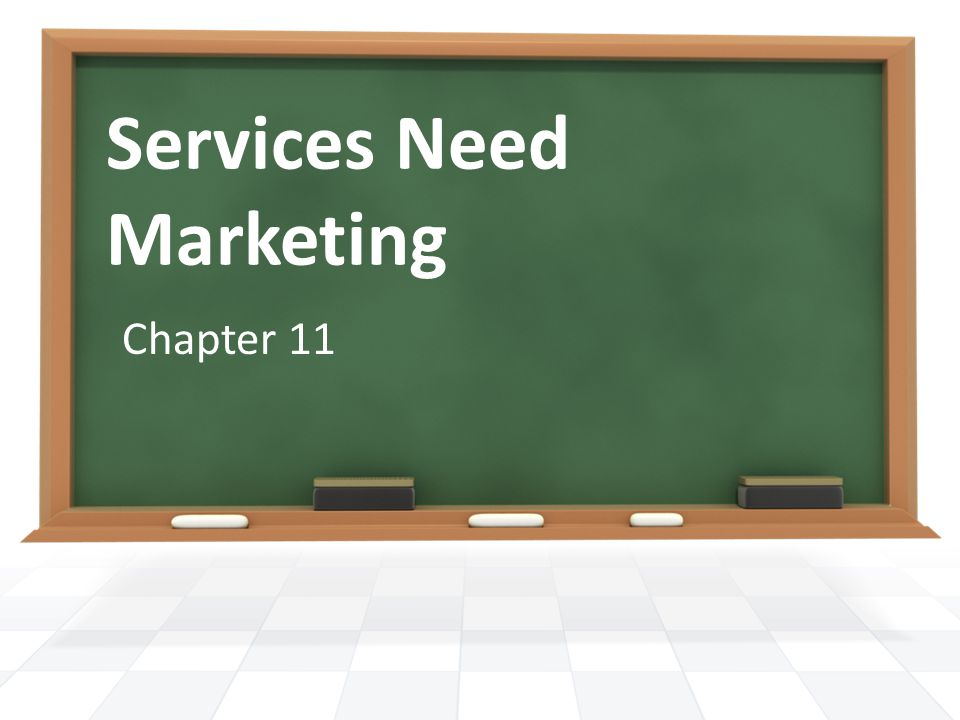 Services Need Marketing Chapter 11