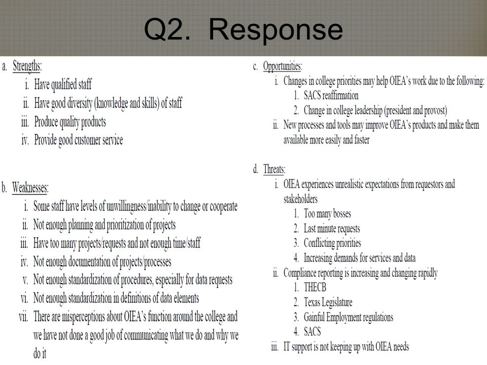 Q2. Response 6/12/2014