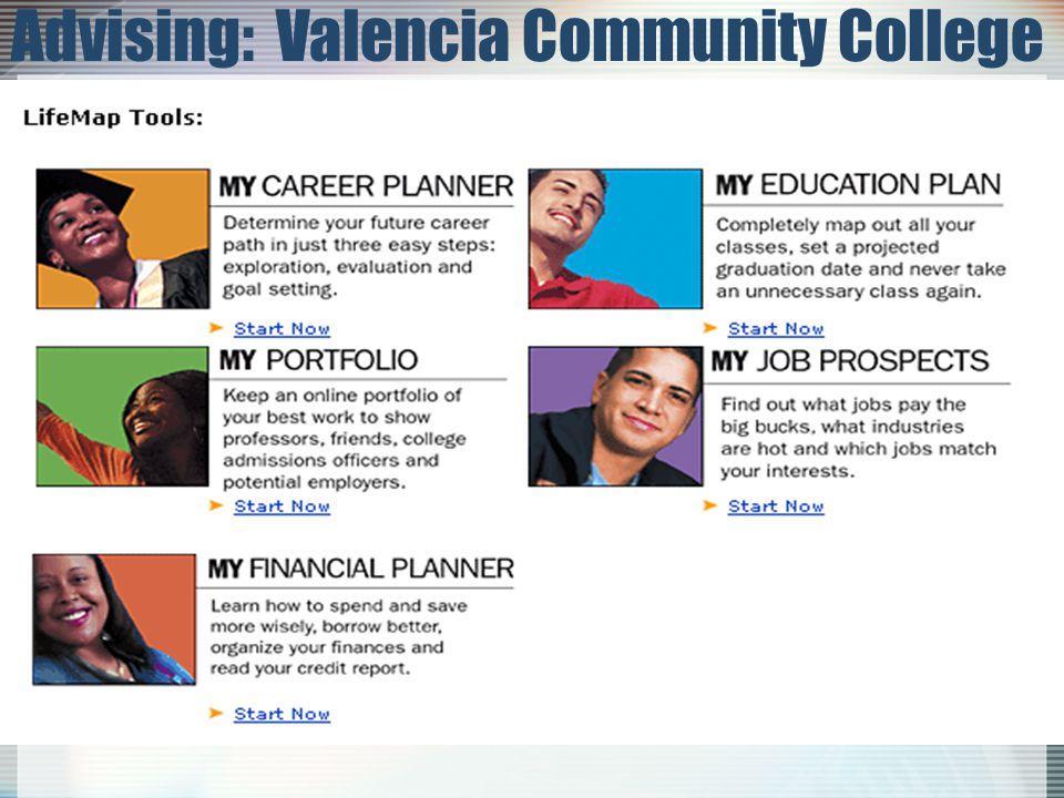 Advising: Valencia Community College