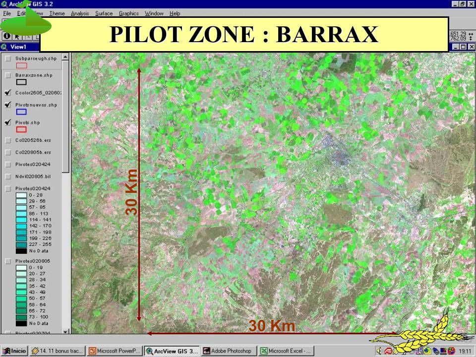 30 Km PILOT ZONE : BARRAX
