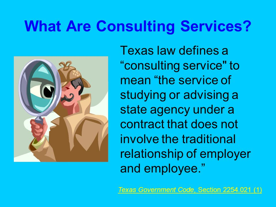 What Are Consulting Services.