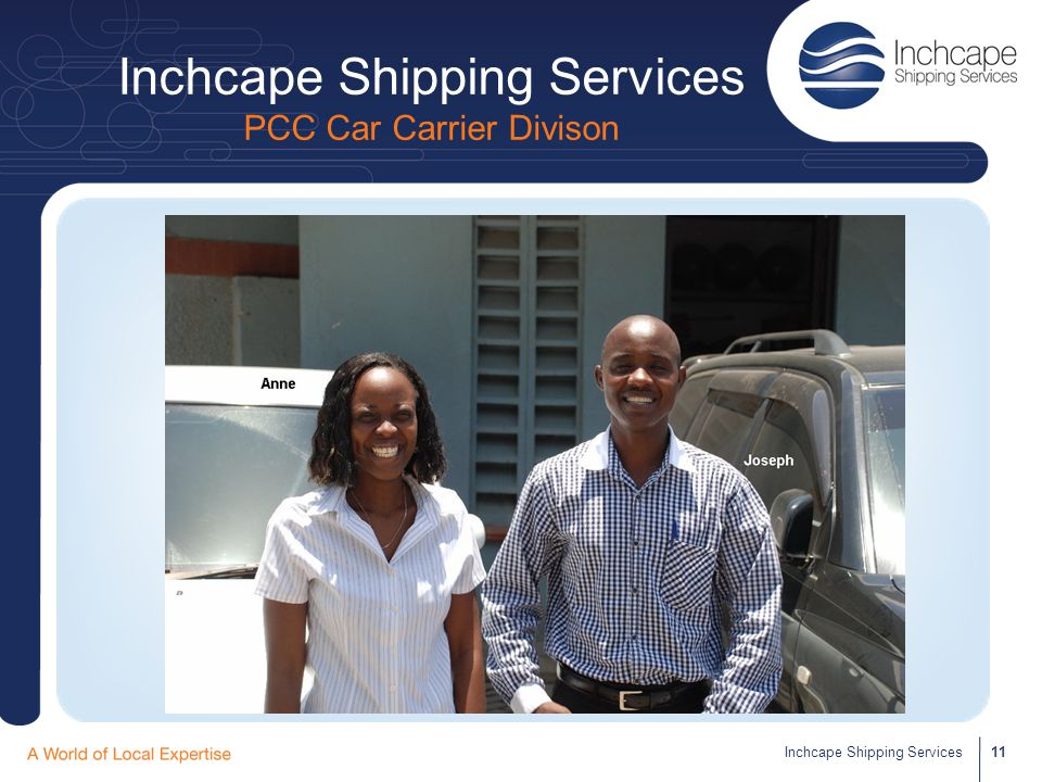 Inchcape Shipping Services PCC Car Carrier Divison 11Inchcape Shipping Services