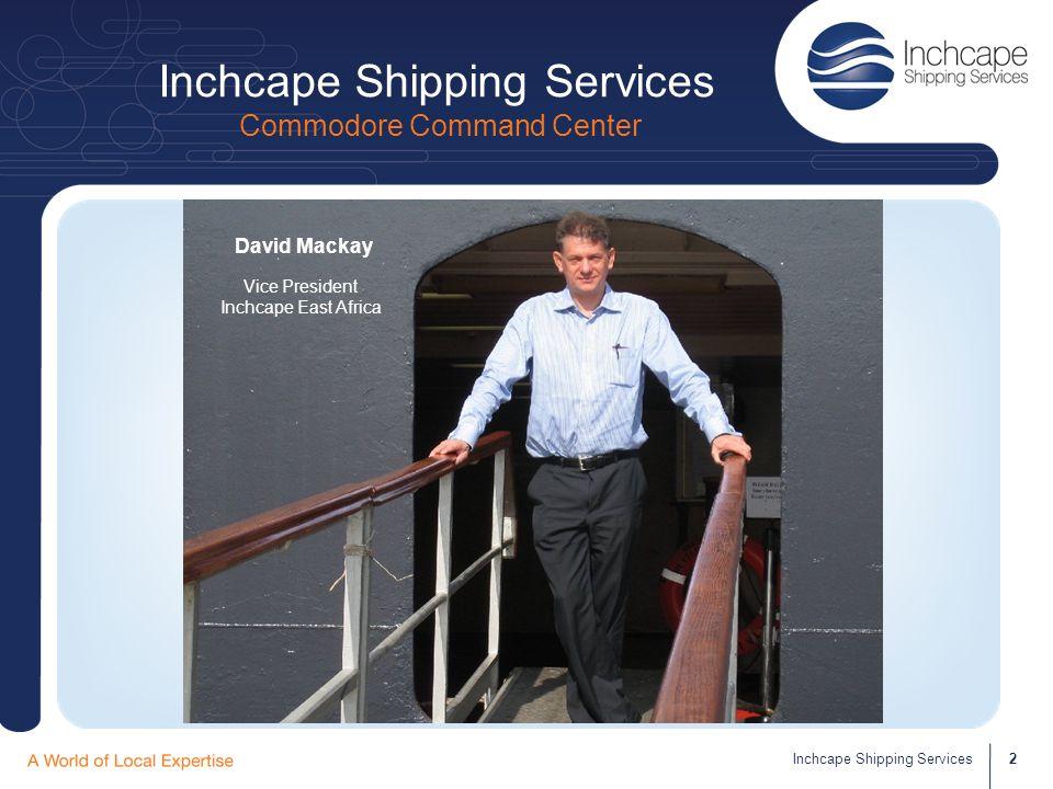 Inchcape Shipping Services Commodore Command Center 3Inchcape Shipping Services Rose PA to Vice President
