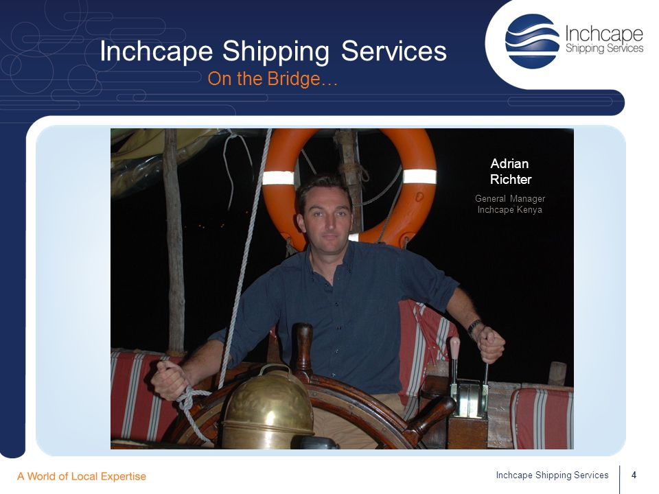 DODWELL Cargo Services Department 15Inchcape Shipping Services