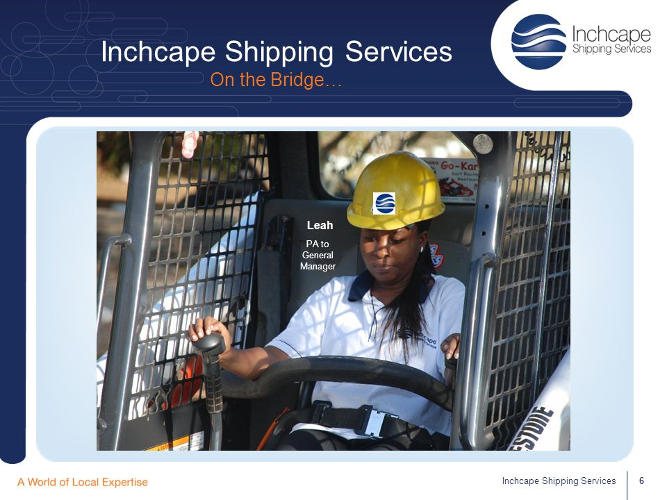 Inchcape Shipping Services Reception – Switchboard 7Inchcape Shipping Services