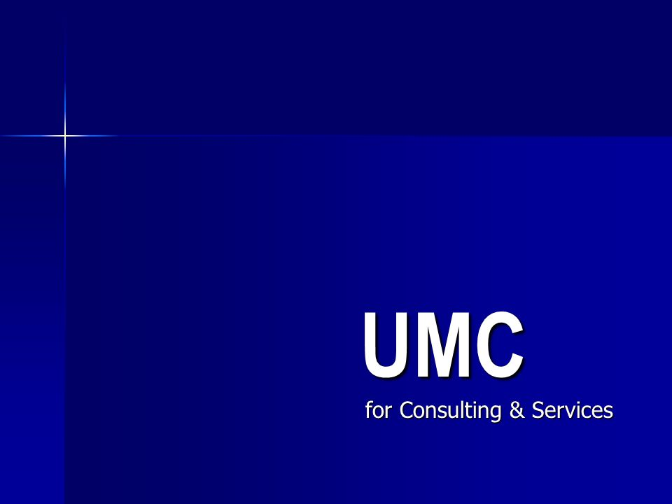 UMC for Consulting & Services