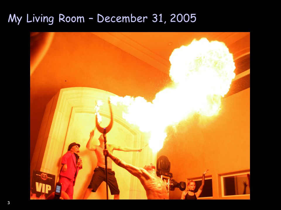 3 My Living Room – December 31, 2005