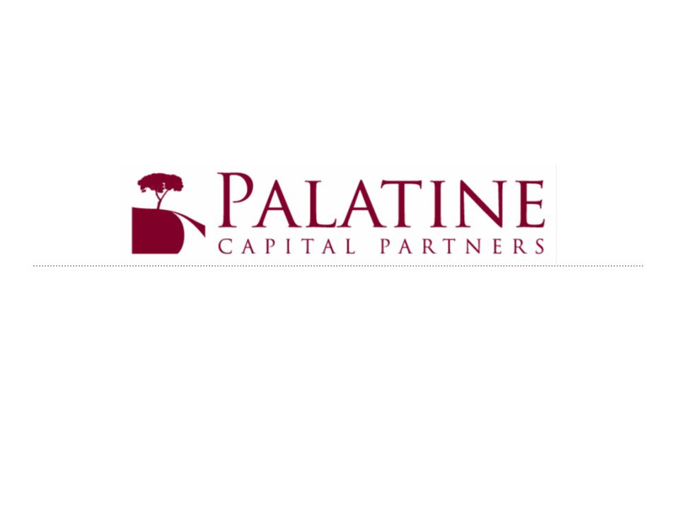 AN INTRODUCTION TO PALATINE Strong internal balance sheet with over $100million of liquidity Capitalized by three families Largest backer is the Hurst Family Established relationships Invested with numerous strong equity partners Working from top lenders Ties with all major brokerage firms as well as direct owners/sellers Acquired interests in over $115million in assets since inception Invested over $10.0million Actively overseeing portfolio of 2,000 apartment units and 3 retail assets Implementing capital improvements of over $3.0million in CY09, and $7.0million anticipated in CY10 Team of five professionals in New York, Boston and Florida Diverse backgrounds with over 50 years of experience in real estate Distressed debt, capital fundraising, asset and property management and leasing expertise Operating mentality with private equity analytic standards Bottom up approach to assessing properties Detailed, practical orientation Deep quantitative understanding and modeling capacity Palatine was founded in January 2007 to acquire multi- family and retail assets and distressed real estate debt