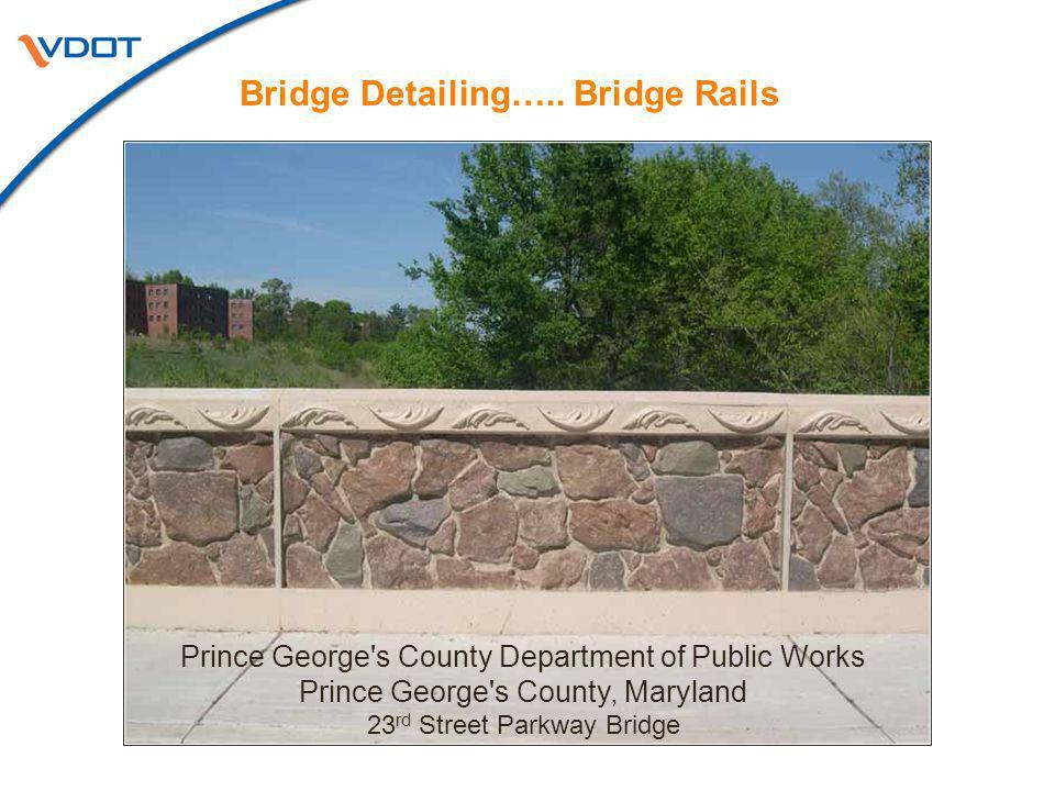 Bridge Detailing…..