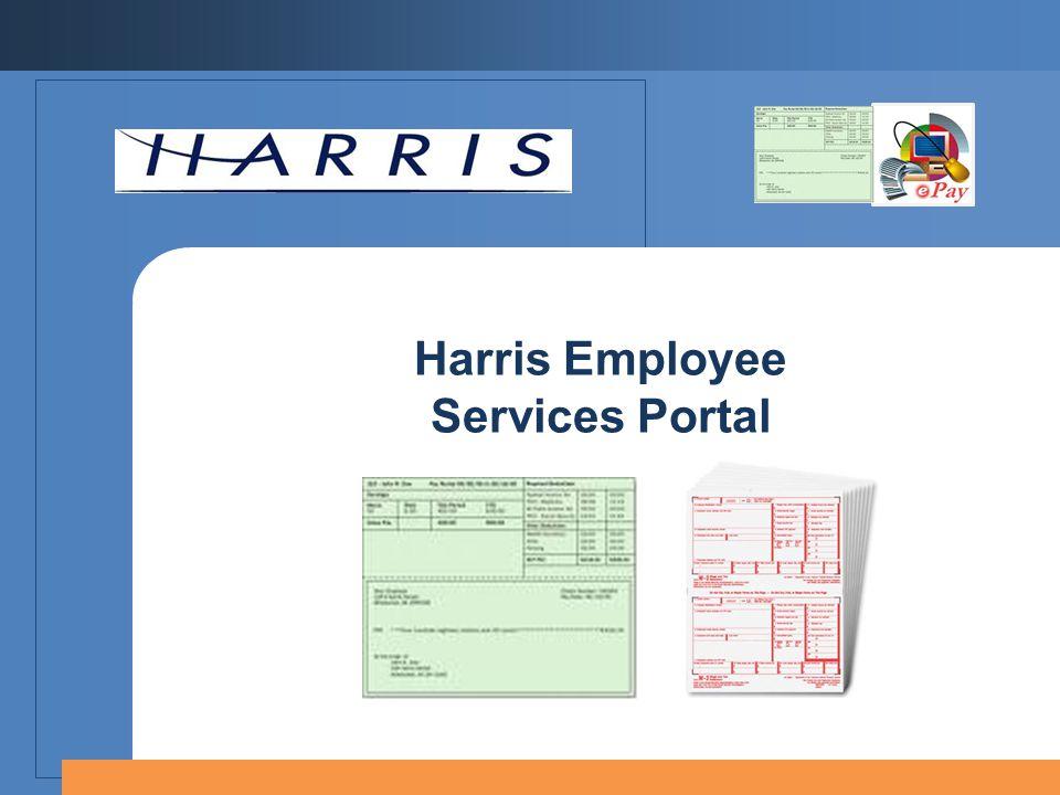 Harris Employee Services Portal