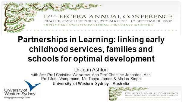 Collaboration and partnership Hindered by –Disregard for E/C experiences –Limited appreciation for families social, cultural and historical factors –Limited awareness of E/C services and their function –Lack of trust between E/C and school teachers and families