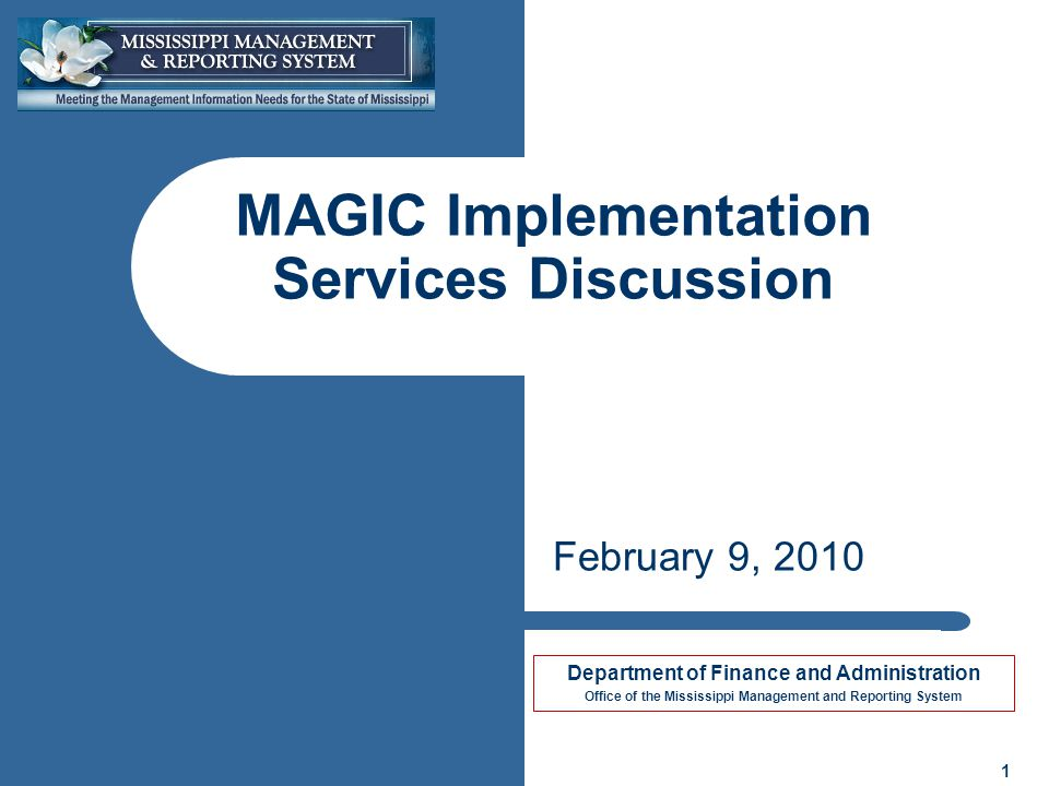 2 2 Objectives Provide an overview of the Implementation Services RFP for Finance, Procurement, and Grants Management Discuss the States plan to reach a Fall 2010 project start Keep the lines of communication open until the Implementation Services RFP is released