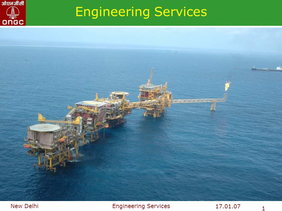 Engineering Services 22 Typical Process Platform Requirements Structural Steel - 4000 to 5000 tonnes Line Pipe- 40 to 50 Km from interconnecting WF/WI/GL Cables (Elect.