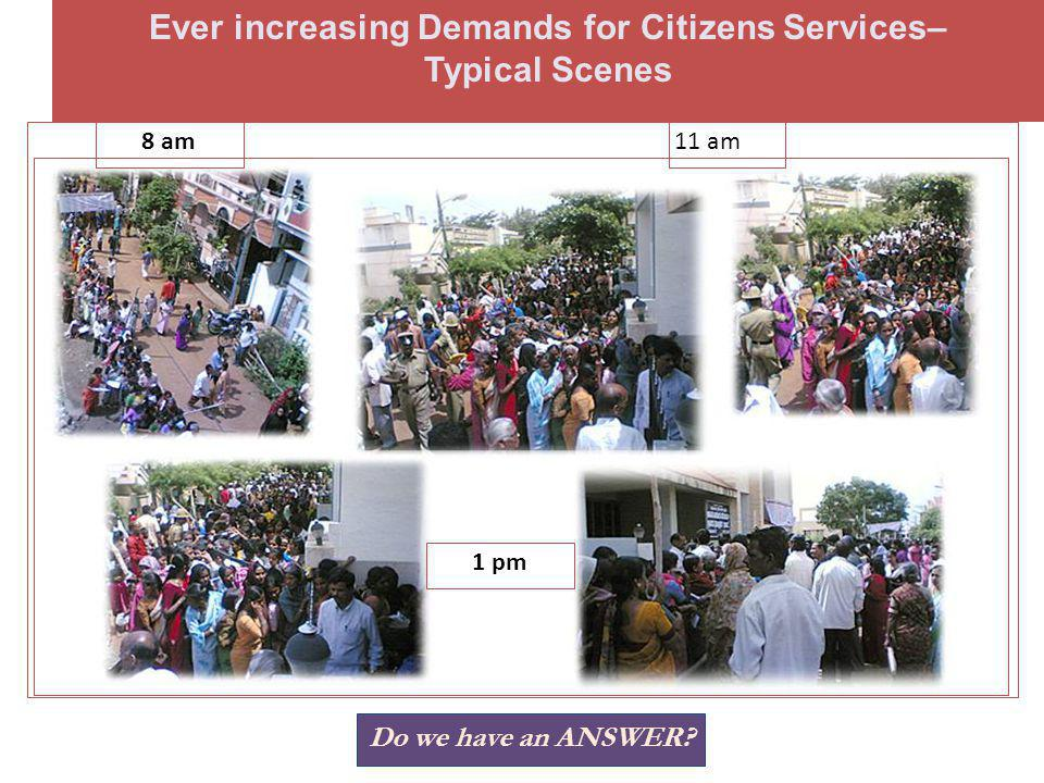 Issues & Challenges in Public Service Why Dissatisfaction with Public Services.