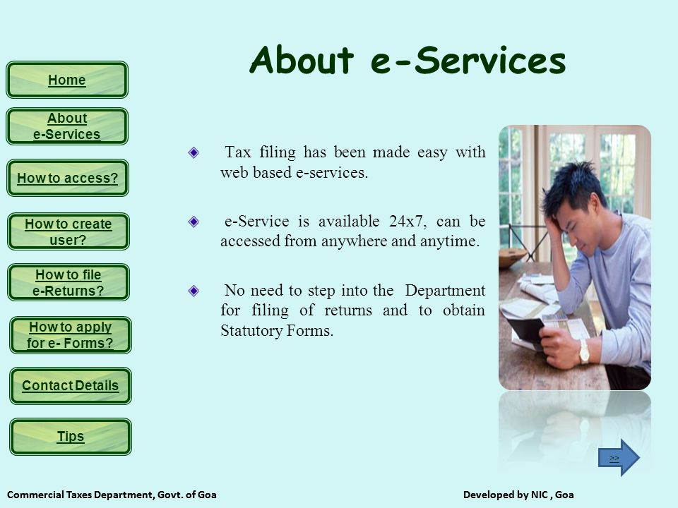 Home Commercial Taxes Department, Govt.