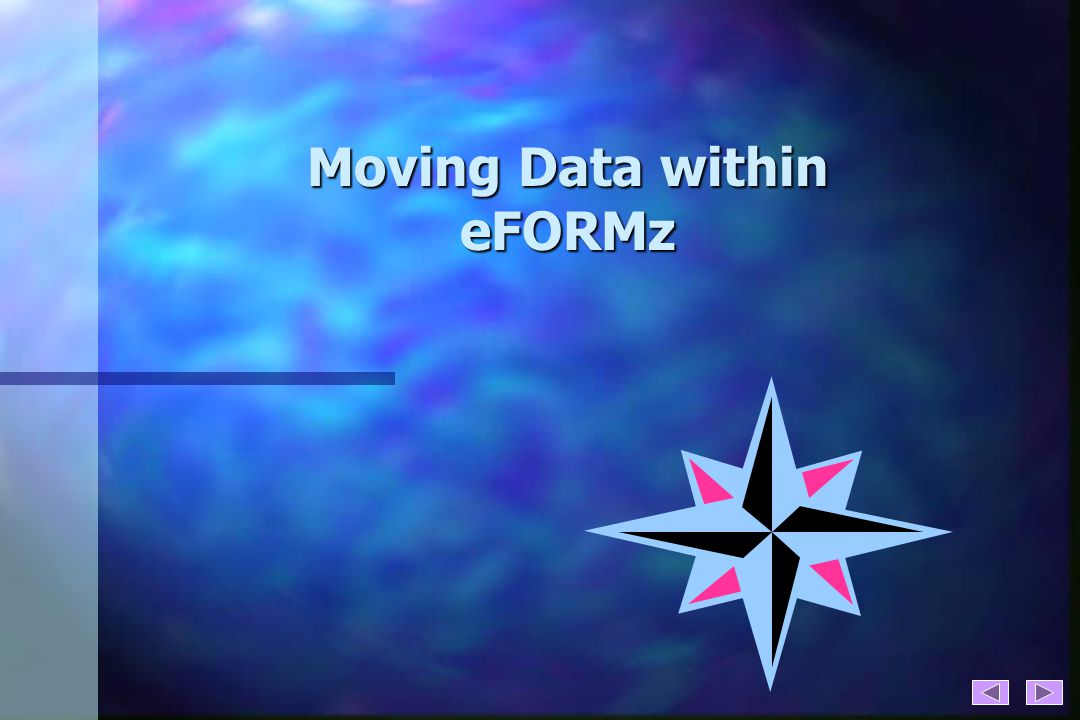 Moving Data within eFORMz