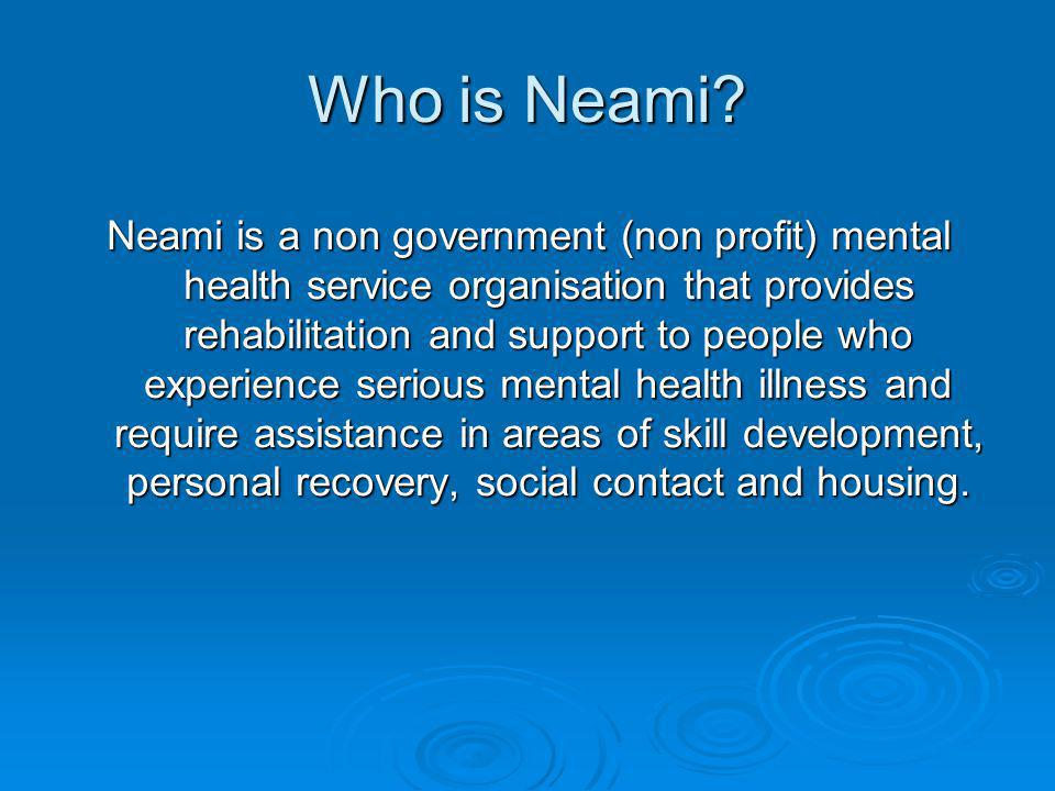 Neamis Growth - Consumers