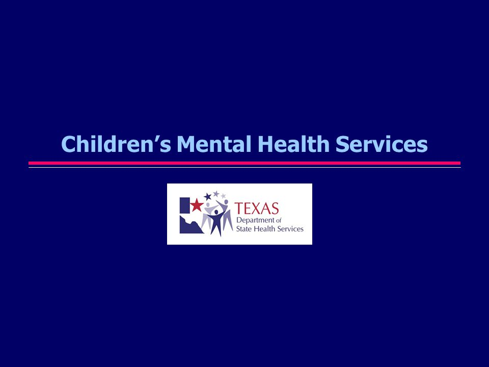 Part 1 DSHS Legislative Appropriation Request(s) for Children s Mental Health Services for FY2008-FY2009