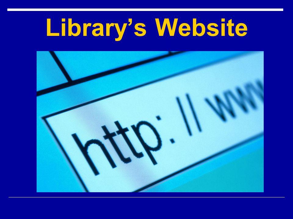 Librarys Website