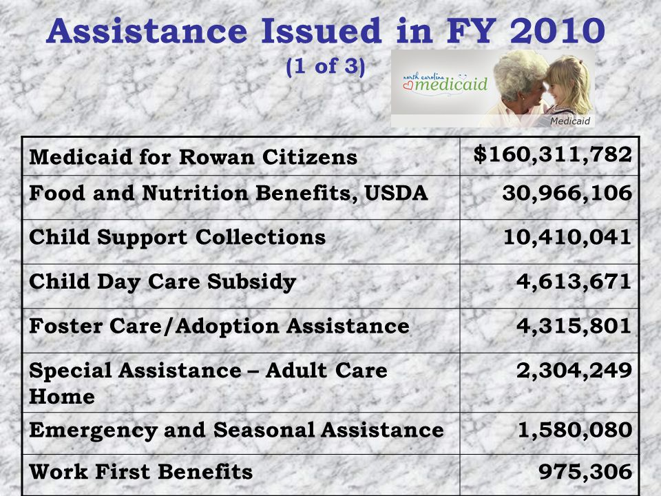 Special Assistance Programs State-County Special Assistance for Adults (SA) provides a cash supplement to help low-income individuals residing in adult care homes (such as rest homes) pay for their care.