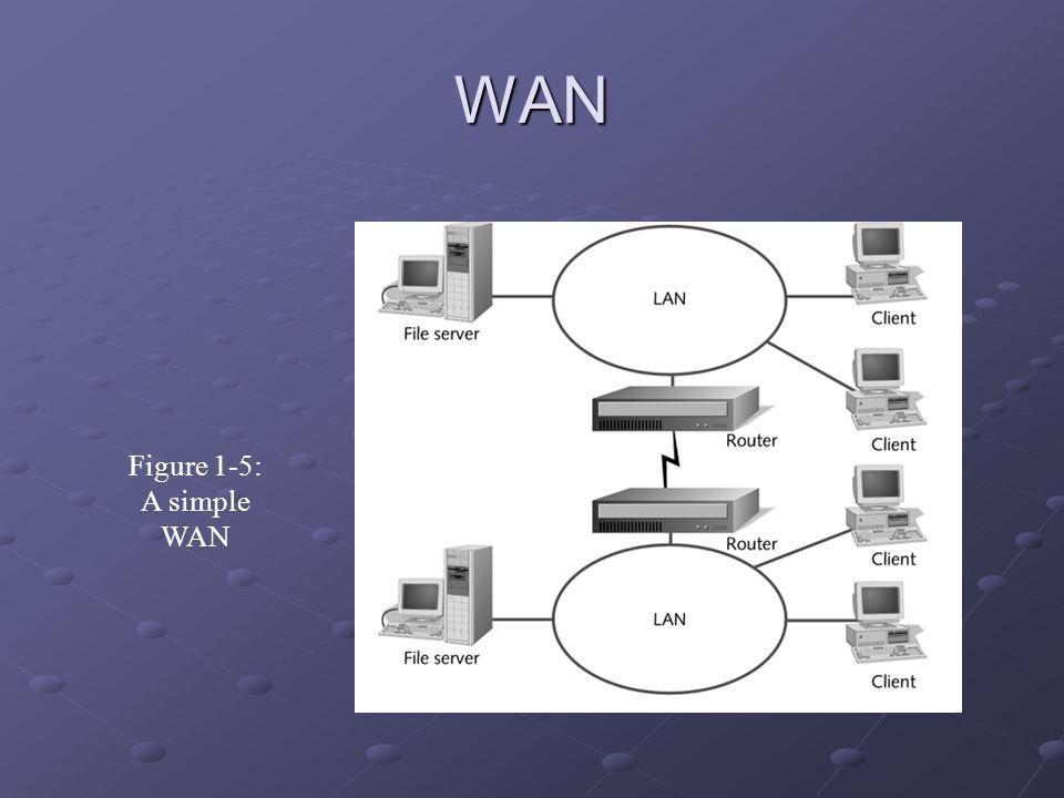 WAN Figure 1-5: A simple WAN