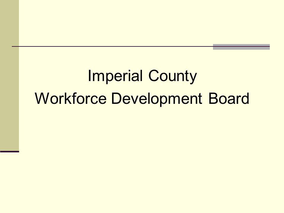 Imperial County Workforce Development Board