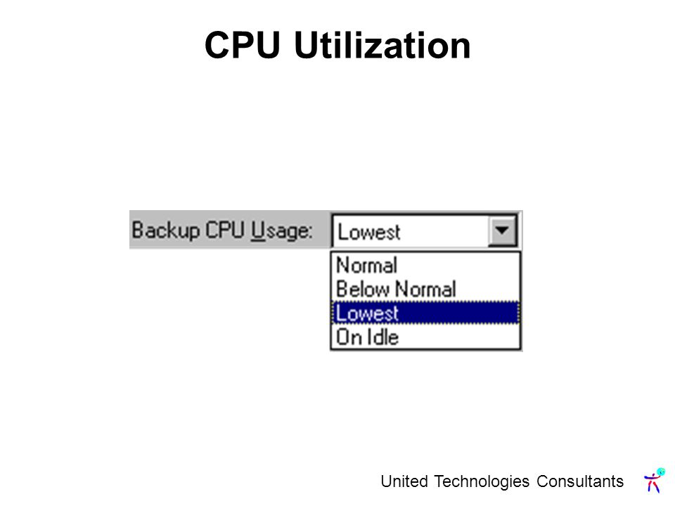 United Technologies Consultants CPU Utilization