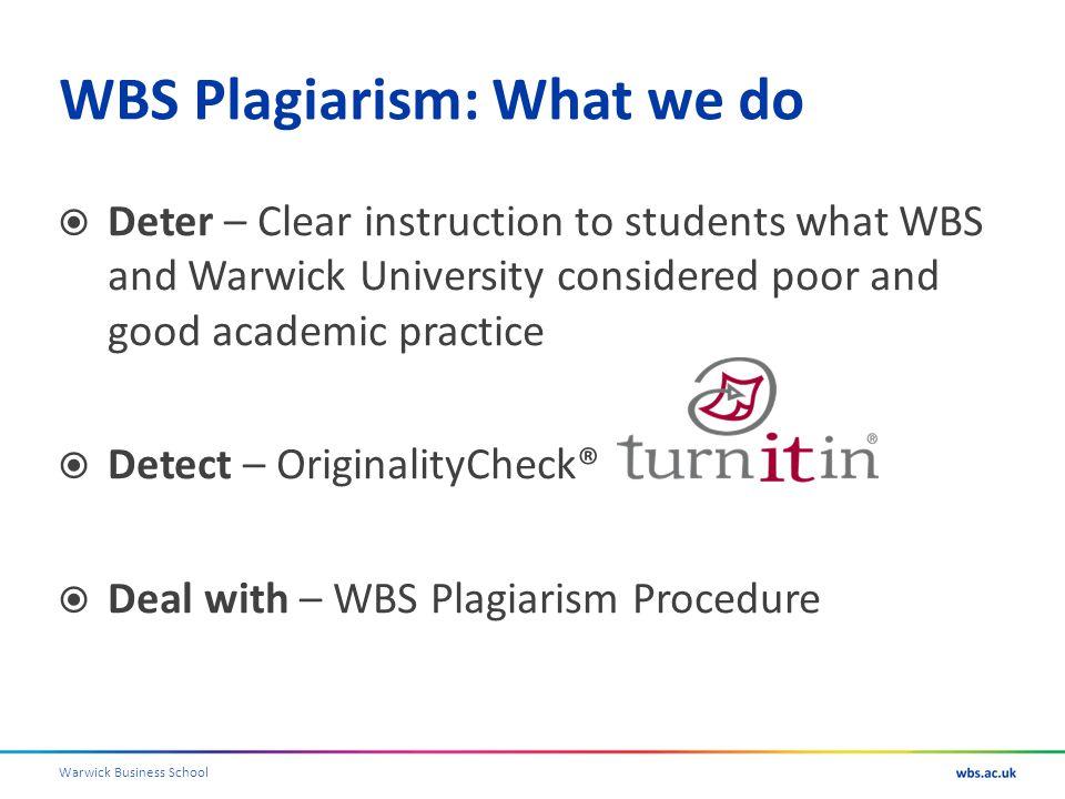 Warwick Business School To follow! Bibliography