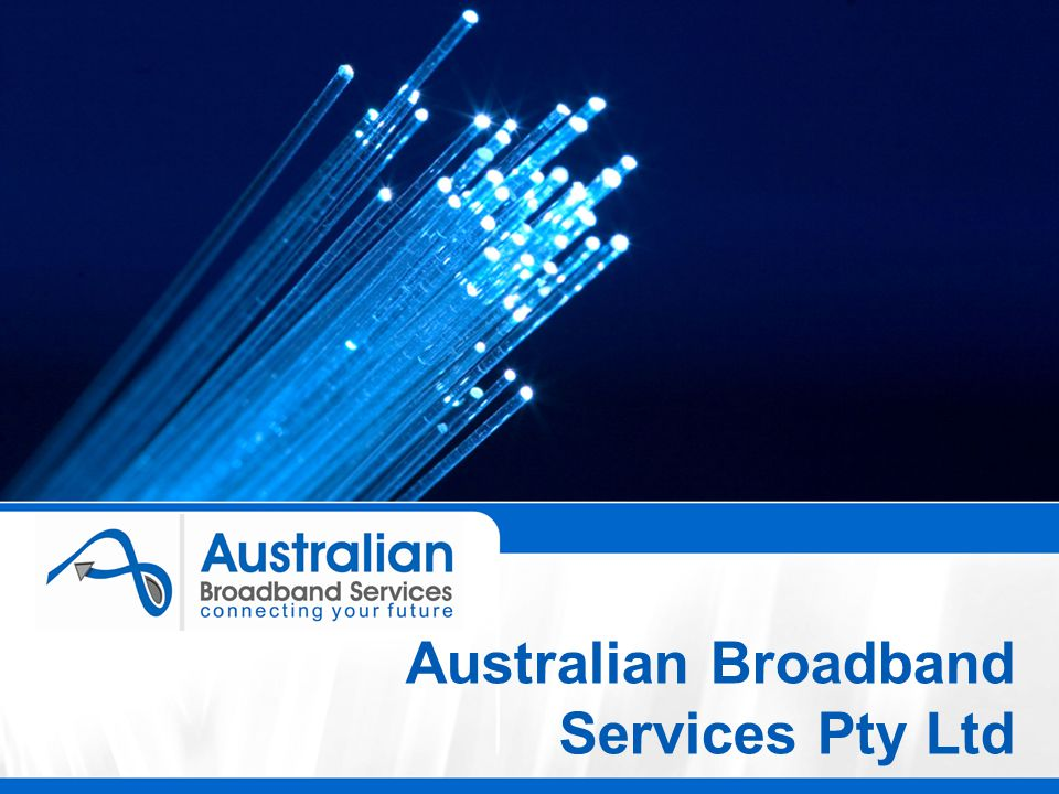 Australian Broadband Services Pty Ltd
