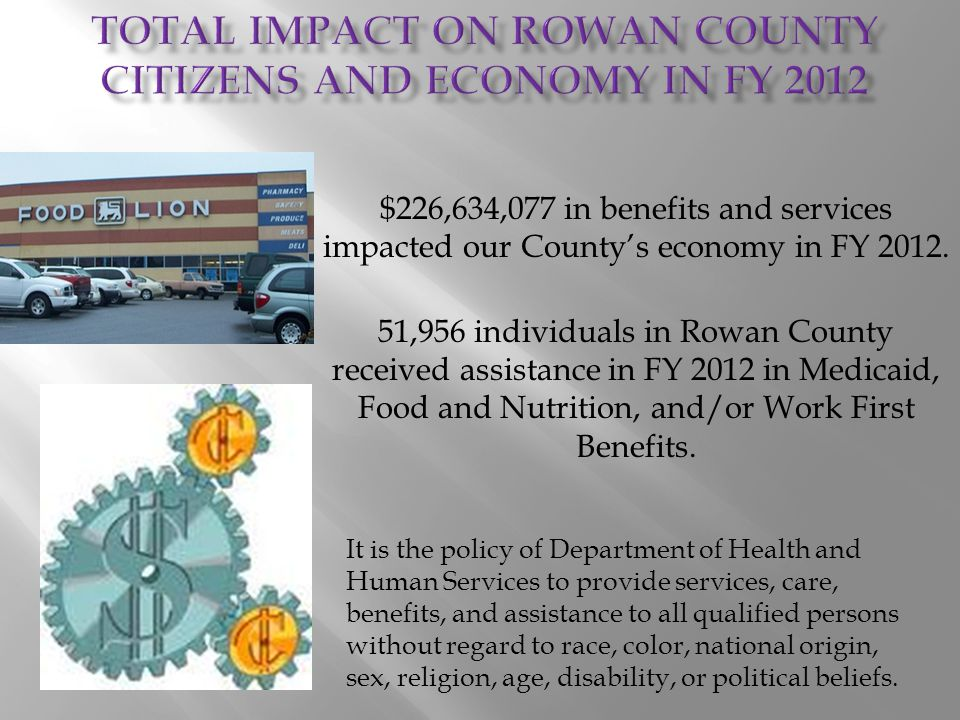 2011 census shows population of Rowan County was 138,019.