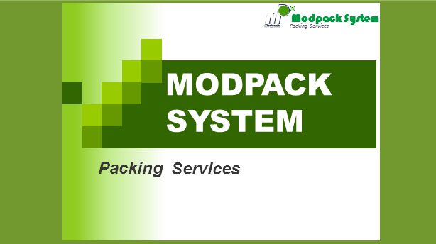 Packing Services MODPACK Packing Services ® SYSTEM Modpack System