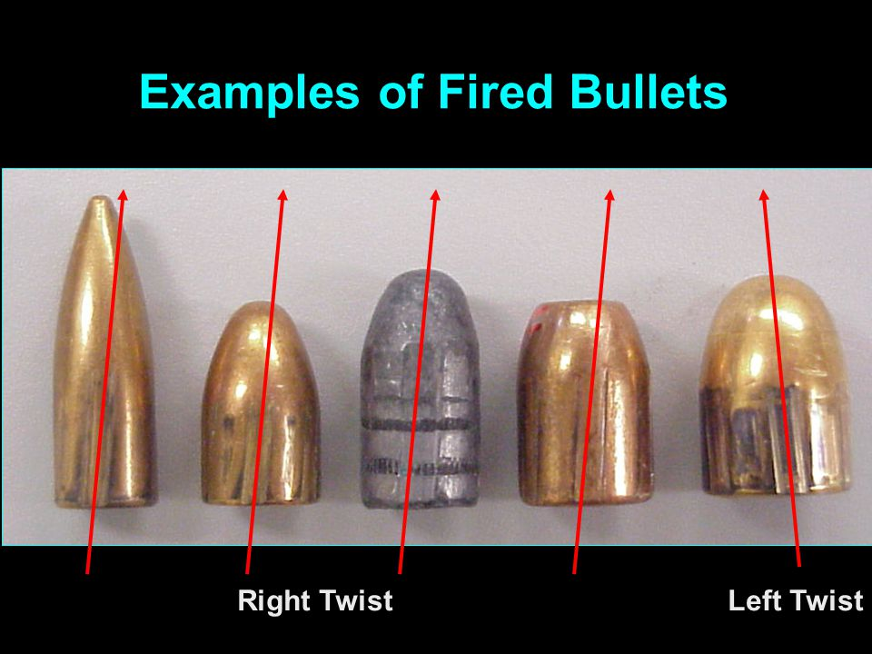SLIDE BREECHFACE EXTRACTOR FIRING PIN EJECTOR SOURCES of MARKS on CARTRIDGE CASES