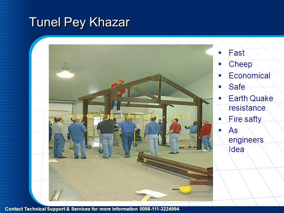Tunel Pey Khazar Fast Cheep Economical Safe Earth Quake resistance Fire safty As engineers Idea Contact Technical Support & Services for more informat