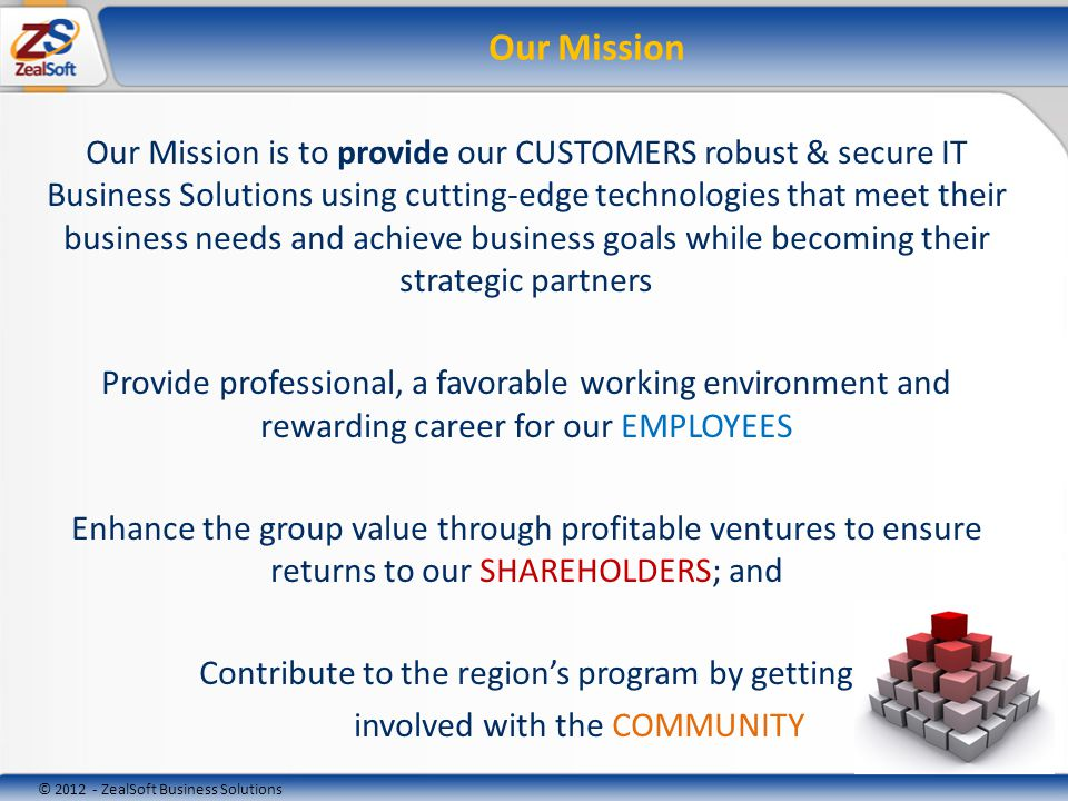 © 2012 - ZealSoft Business Solutions Partners & Affiliates SSA SoftZealcon Engineering & PartnersSinsina CornerText 2 RxGlobal Business Management SolutionsEdenTel Consulting GroupEMBESCO Where every patient is connected…