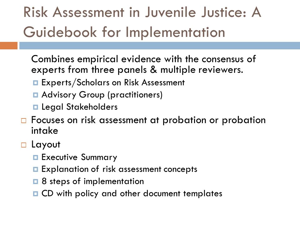 Outline Why is knowledge of a youths risk-level important for dispositional decisions and case management.