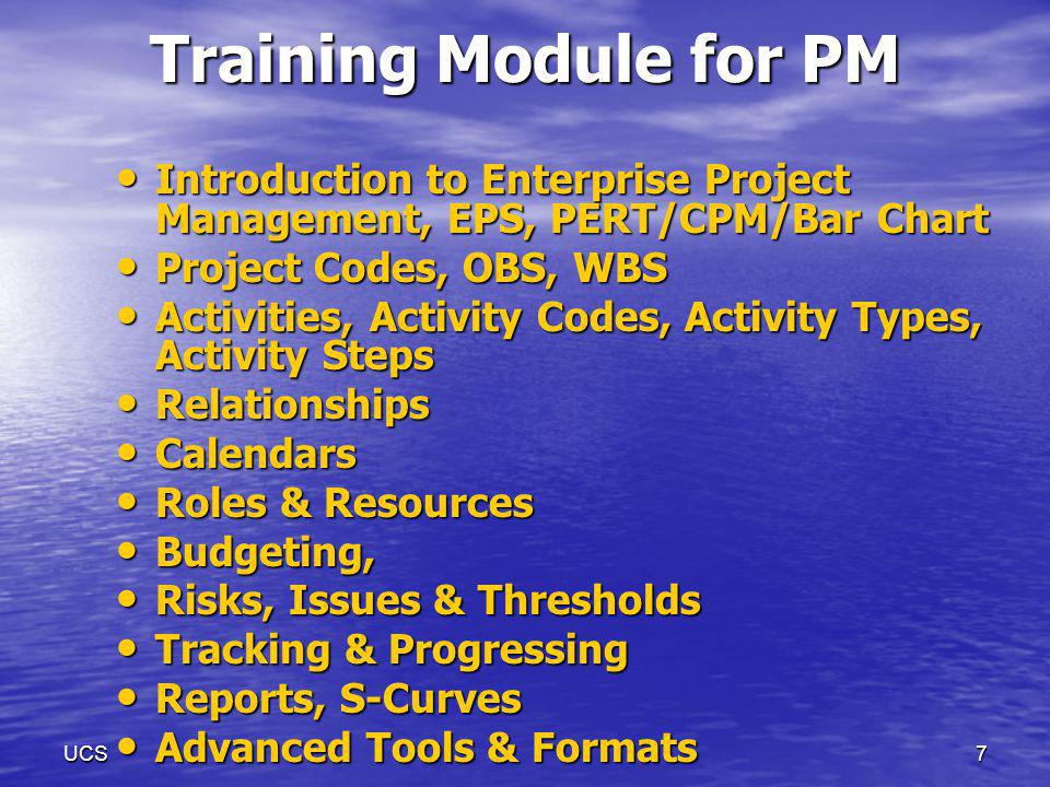 6 Training Strengths Trained more than 700 Engineers Trained more than 700 Engineers Pioneers in Bangalore (since 1991) Pioneers in Bangalore (since 1