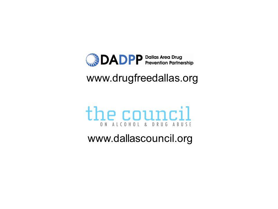 www.drugfreedallas.org www.dallascouncil.org