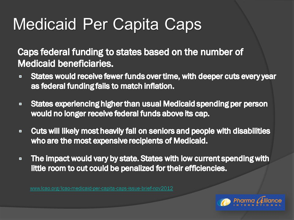 Medicaid Per Capita Caps www.lcao.org/lcao-medicaid-per-capita-caps-issue-brief-nov2012