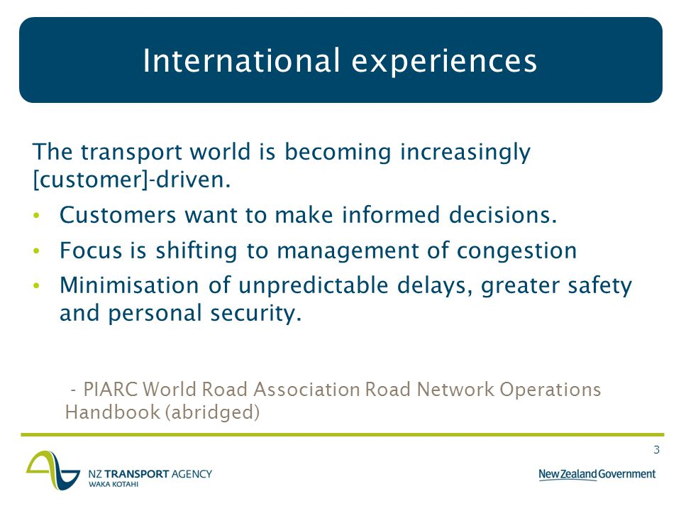 3 The transport world is becoming increasingly [customer]-driven.