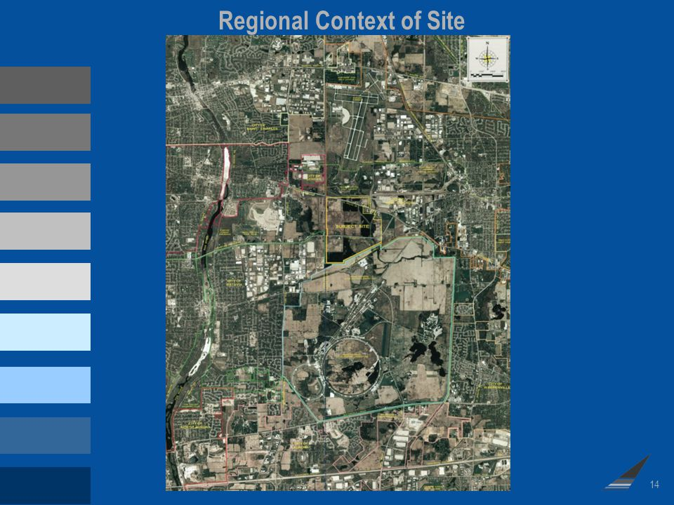 14 Regional Context of Site