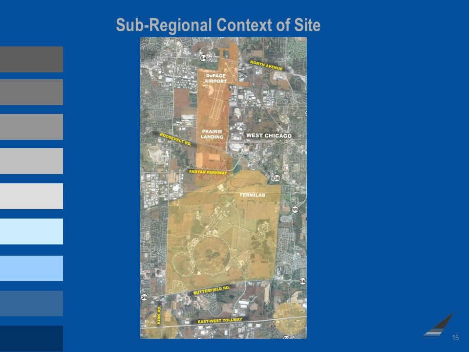 15 Sub-Regional Context of Site