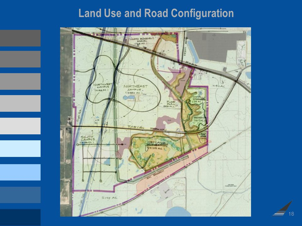 18 Land Use and Road Configuration