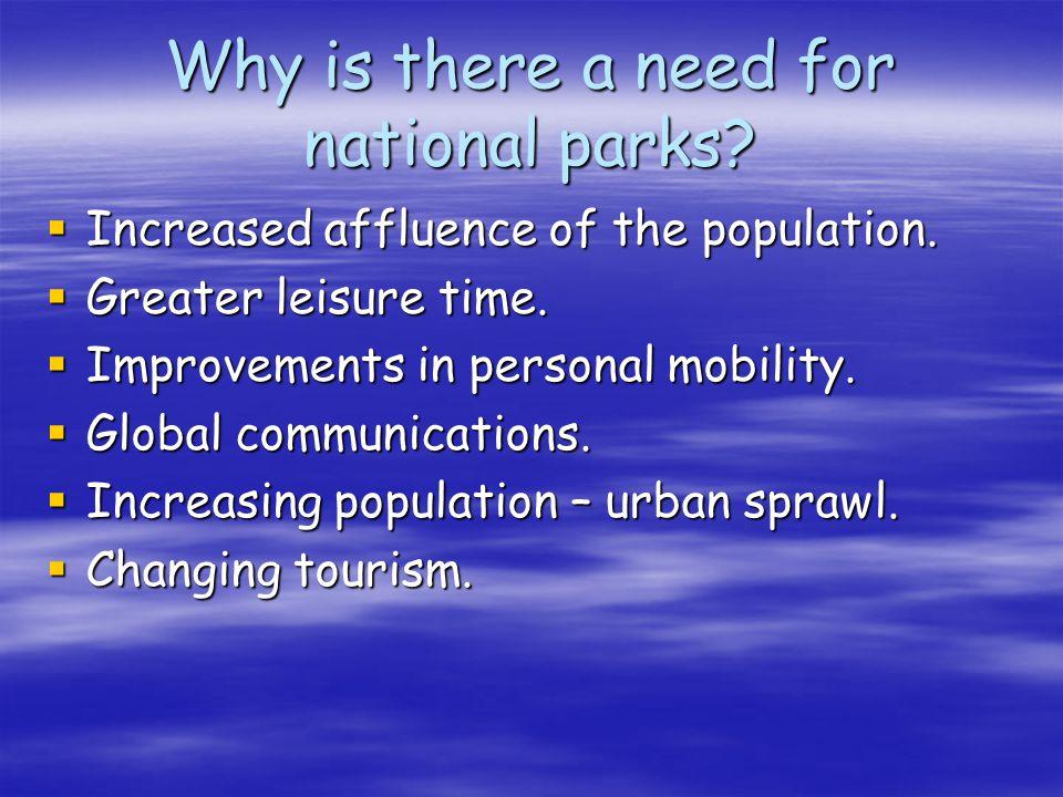 What do National Parks do.