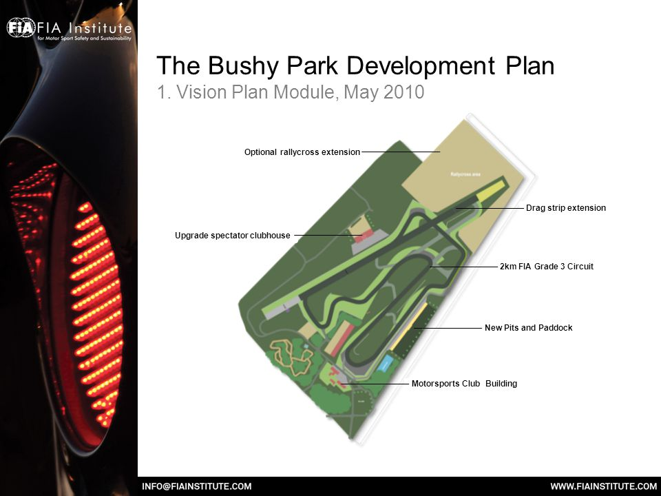 The Bushy Park Development Plan 1.