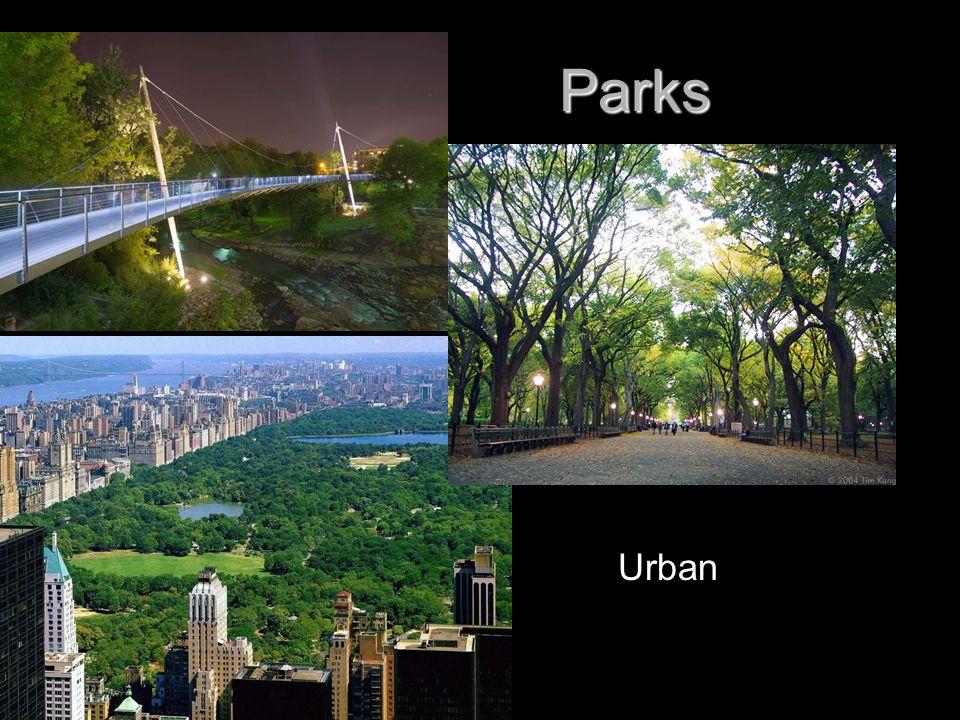 Parks Parks Urban