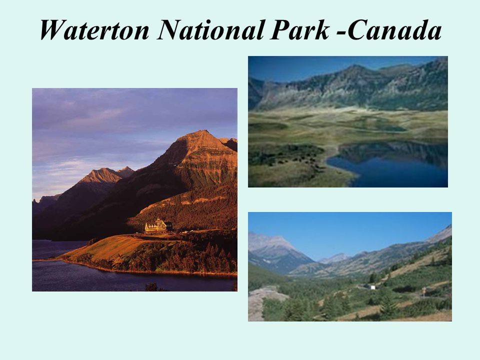 Waterton National Park -Canada